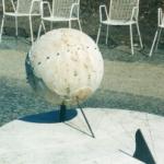 Globe dial at Augsburg, Botanischer Garten