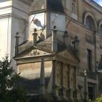 Hexagonal dial at Caius College, Cambridge