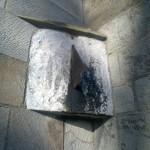 Vertical Dial at Dalmeny Church, South Queensferry
