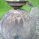 The famous Kelvin globe at Glasgow University