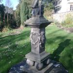Lectern Sundial at Inveresk Lodge