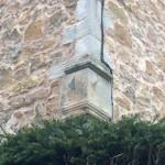 17th Century Vertical dials at Lennoxlove Casatle, E Lothian