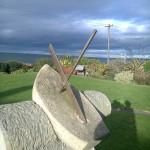 New Reclining Dial at Port Seton, E Lothian