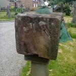 Square Dial 17th C at Rhu Argyll