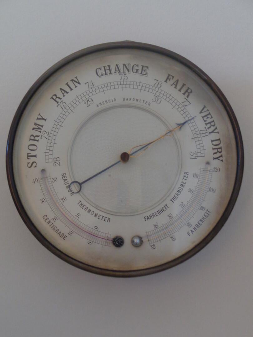 Anerod Barometer - Brevete France