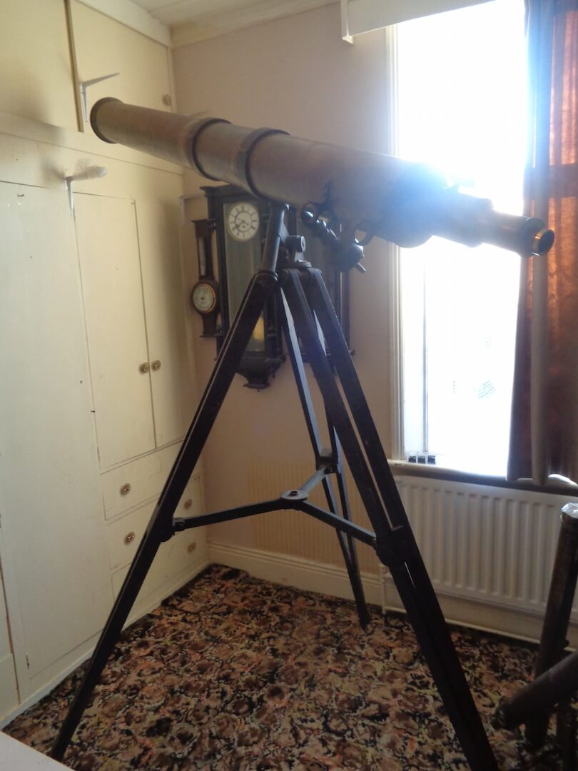 Lord Armstrong of Cragside's Astronomical Telescope