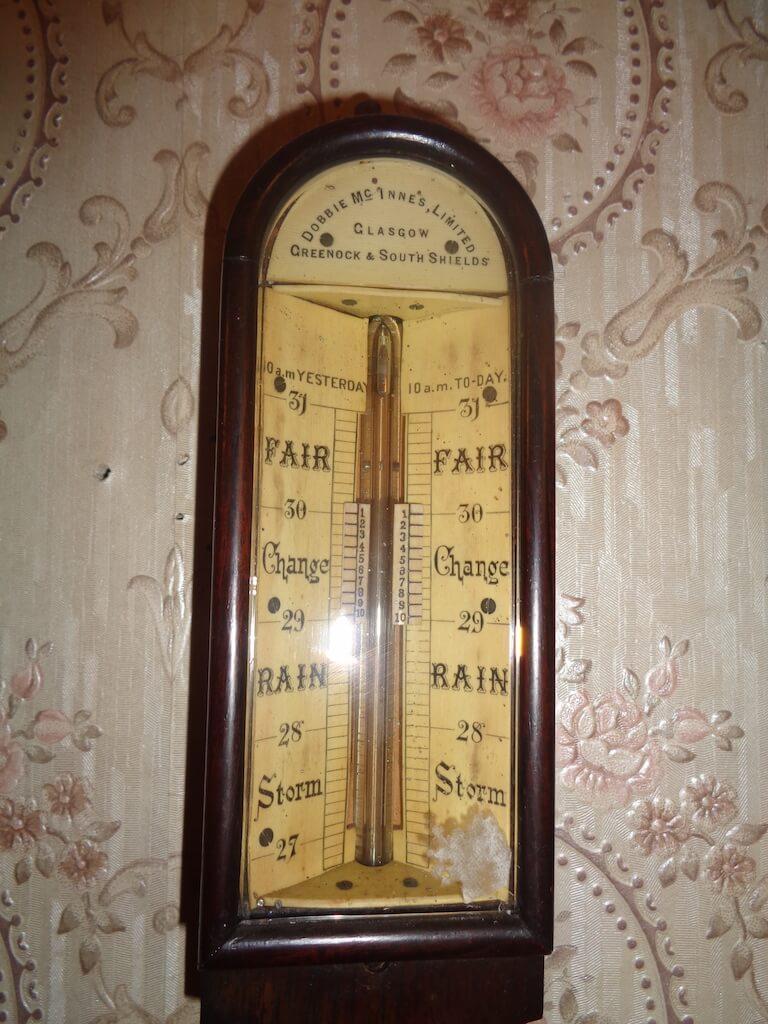 Glasgow stick barometer