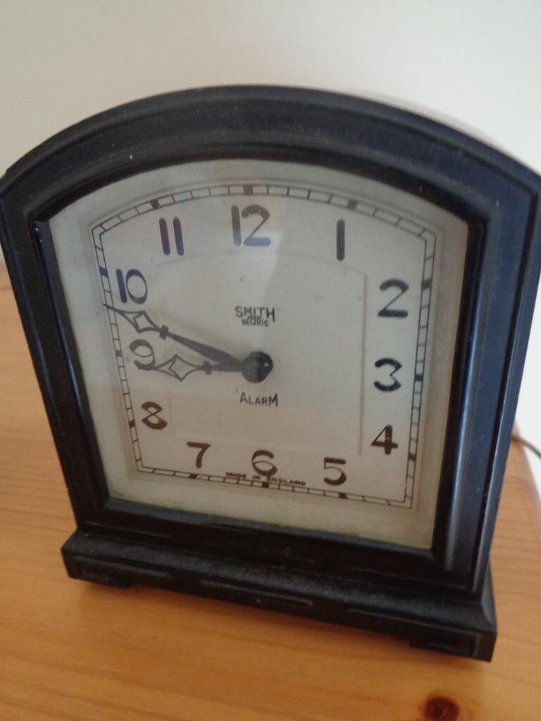 Smiths Electric Alarm Clock.